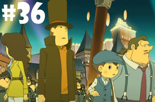2012 games completed prof layton Miracle-Mask
