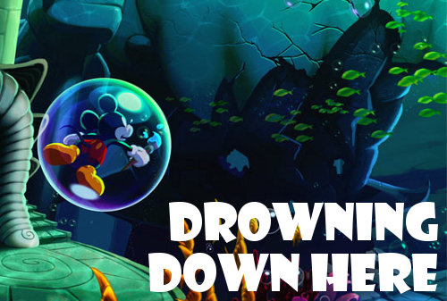 epic mickey power illusion water levels rant