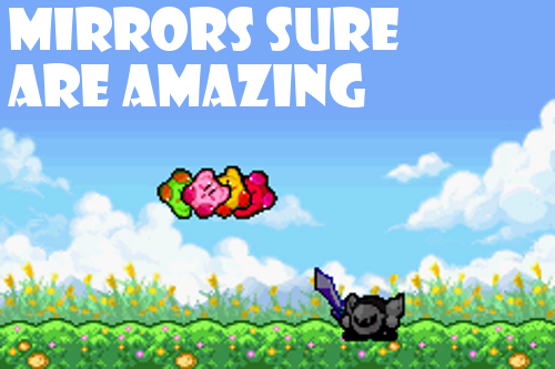 kirby and the amazing mirror GBA impressions