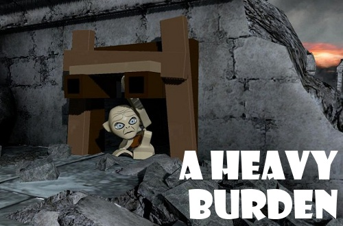 lego-lord-of-the-rings heavy burden