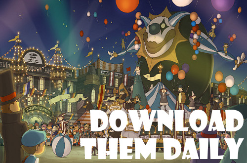 prof layton miracle mask daily download puzzles