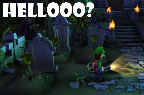 Luigi S Mansion Dark Moon Tasks You To Ghost Hunt Like A