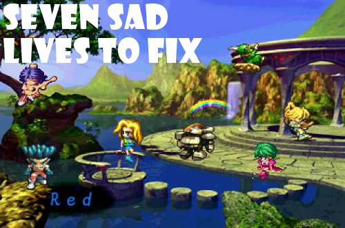 games I regret saga frontier