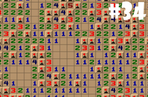 2013 games completed minesweeper