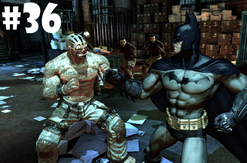 2013 games completed 36 batman arkham asylum copy