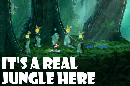 rayman origins demo 3DS impressions