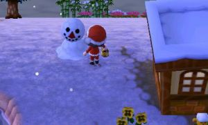 animal crossing new leaf snowman 2