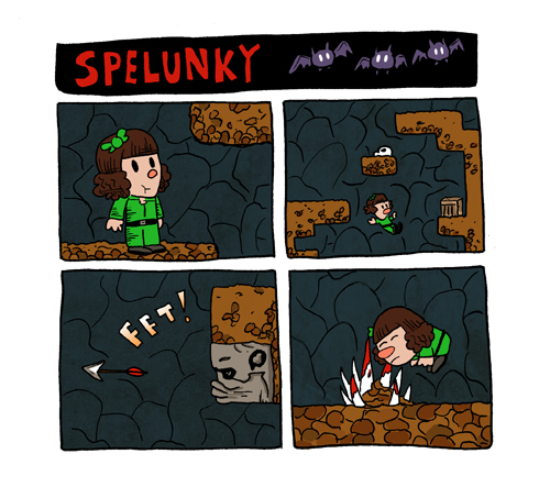 2014 games completed 20 - spelunky facebook