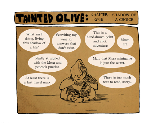 2014 games completed 23 - tainted olive chapter 1 facebook