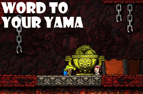spelunky beat yama in hell