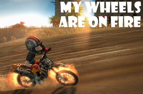 motocross madness early impressions