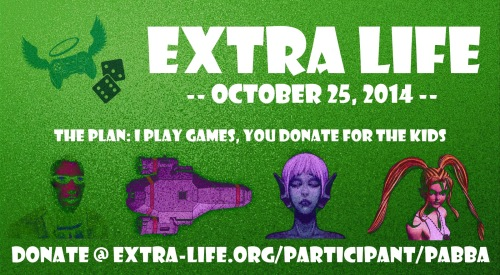 extra life donations image