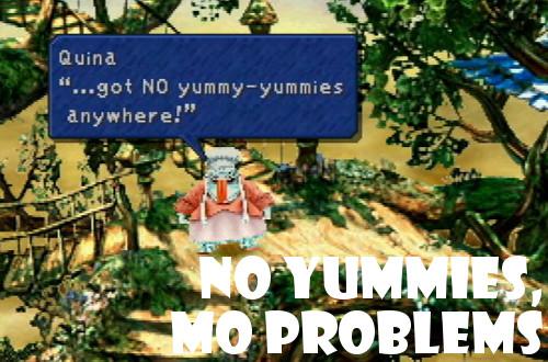 ff9 ate no yummies impressions