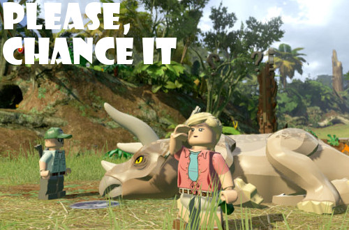 Nintendo 3DS LEGO Jurassic World impressions