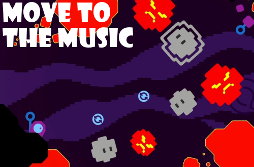 gd impressions sound shapes blasteriods level