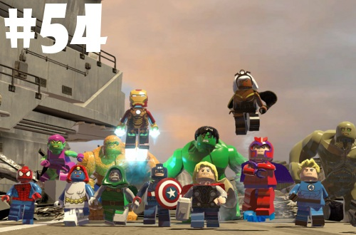 2015 games completed Lego Marvel