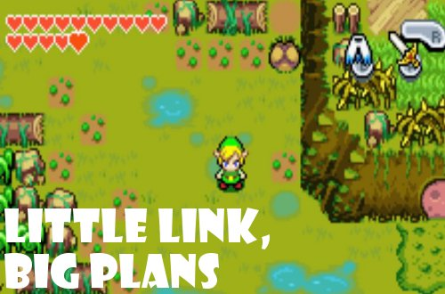 gd early impressions The-Legend-of-Zelda The Minish Cap