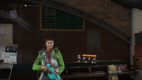 Meadow Jacket, for finding 24 Survival Guides