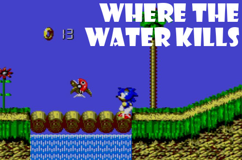 You Have 10 Seconds To Survive Sonic Blast S Underwater Levels Grinding Down